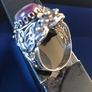 Jewelry - sterling silver statement ring sz 10